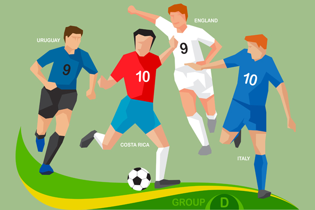 The first step to enjoying a World Cup match is knowing who is playing, followed closely behind by knowing which team is which. For those in need, this should help!