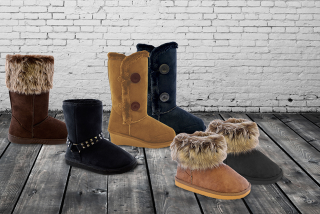 Give last winter's shoes the boot and take advantage of these boot-ylicious boots...