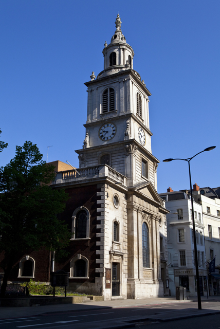 St Botolph's Church: a place of sanctuary for women of the night at the height of the killings, lovingly referred to as Prostitutes' Island.