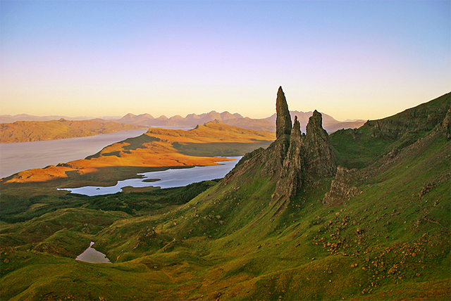 One of the most beautiful islands of the Inner Hebrides, the Isle of Rassay acted as inspiration for Sorley Maclean and is home to herds of red deer, eagles, owls and even Orca whales!