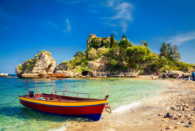 The warm Mediterranean Sea and stretching beaches characterise Sicily, so why not get up close and personal with a boat trip?