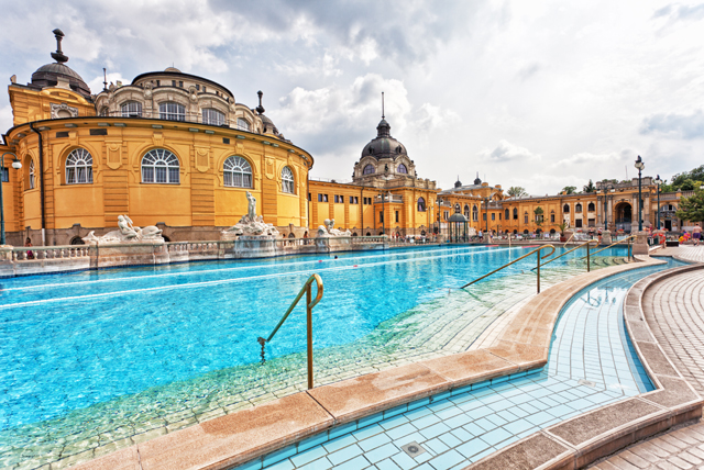 Boasting both indoor and outdoor spas, the city's many baths offer a unique place to relax and unwind.