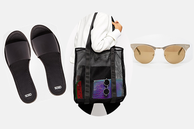 Caption: Sandals £10 | Bag £18 | Sunglasses £12