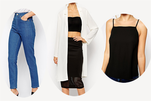 Caption: Jeans £32 | Jacket £13.50 (reduced from £38) | Top £12