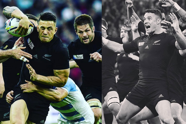 Sonny Bill Williams and Dan Carter - world.rugby/Instagtram