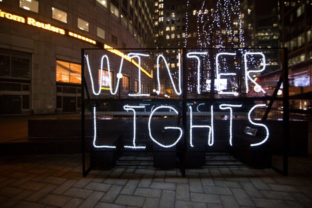 winter lights
